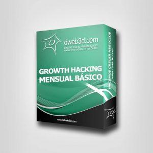 comprar paquete de growth hacking crecimiento empresarial mensual basico