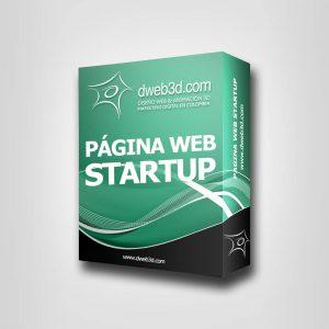 comprar paquete de pagina web startup