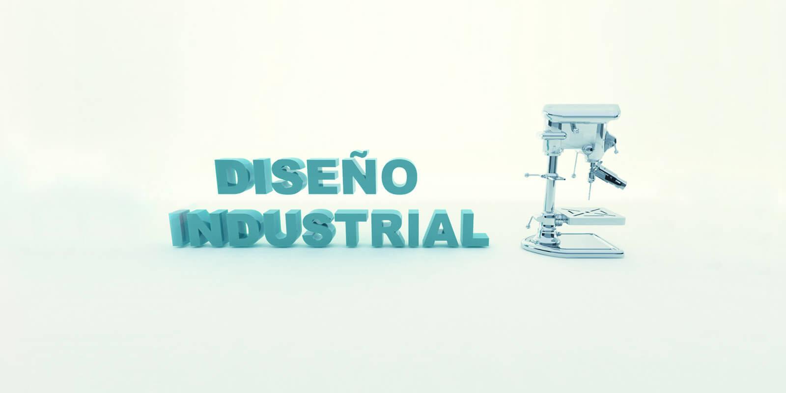 diseño industrial en 3d, taladro industrial en 3d